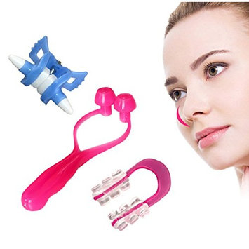 ixaer Pack of 3 Nose Up Clip Bridge Lifting Shaping Shaper Clipper Straightening Beauty Set