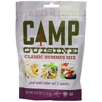 Harmony Valley Camp Cuisine Classic Hummus Mix, 4.2 Ounce [Hummus Mix]