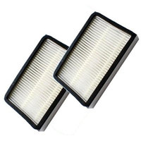 HQRP 2pcs 86889 Filter for Kenmore Upright 32728 / 32729 / 32734 / 32735 Vacuum Cleaners