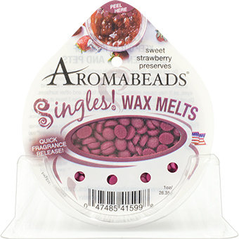 Hcc Brands Inc Aromabeads Singles Strawberry Preserves