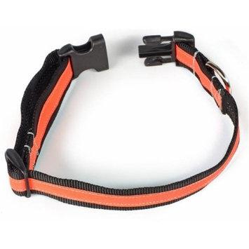 Starline Global Petflect Black/Orange Reflective AdventurePlay Collar