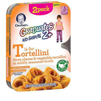 Gerber® Foods Tortellini Graduates 2+ Kid Selects Cheese & Vegetable