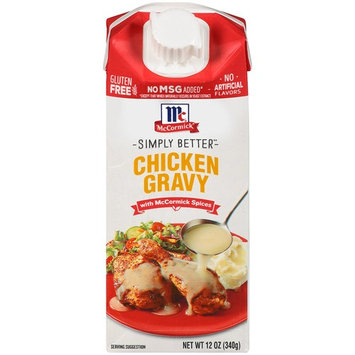 McCormick Chicken Wet Gravy, 12 OZ