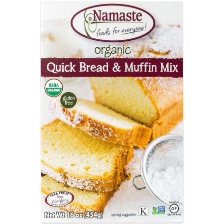 Namaste Foods Organic Quick Bread & Muffin Mix, 16 oz