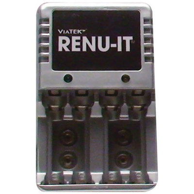 VIATEK RE03G RENU-IT PRO DISPOSABLE BATTERY RECHARGER (6 DOCKS)