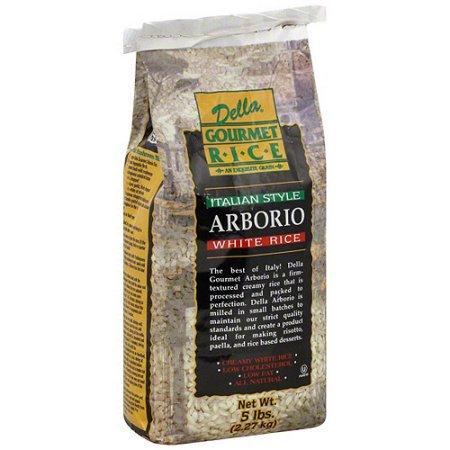 Della Gourmet Della Italian Style Arborio White Rice, 5 lb (Pack of 4)