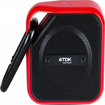 TDK A12 TREK Micro Wireless Outdoor Speaker Red T62109