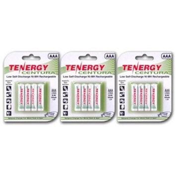 Tenergy Centura AAA NIMH Rechargeable Battery 800mAh Low Self Discharge Triple A Battery Pre-charged AAA Size Batteries Pack for Remote Control/Toys/Flashlight/Mice (12 PCS)
