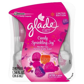 Glade Candy Sprinkling Joy Air Freshener Refill - 2ct