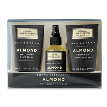 Caswell-Massey - Almond Try Me Shaving Set
