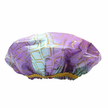 Betty Dain Betty Dain Hipster Collection Mold Resistant Shower Cap, Splash of G