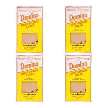 Domino Light Brown Sugar - 4lb Resealable Bag (Pack of 4)