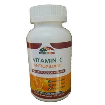 Bionaterra Vitamin C 500mg of Pure Vitamin C. Vitamin C as Sodium Ascorbate, Non-Acidic - Gentle on the Stomach, High quality comparable to Puritan's Pride