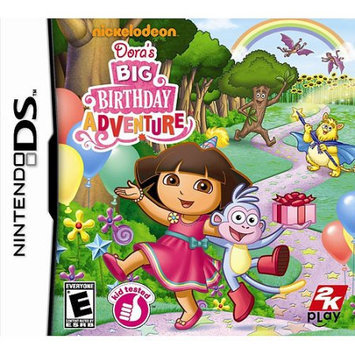 Take-two Dora The Explorer Doras Big Birthday Adventure Action/adventure Game - Complete Product - Standard - Retail - Nintendo Ds (35833) (ndstk235833)