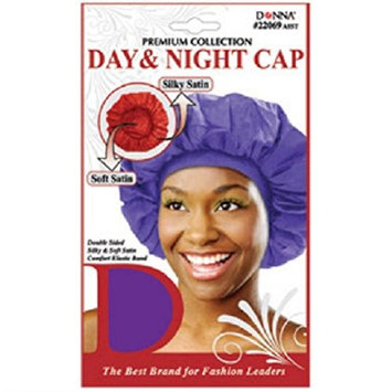6PCS OF Donna Premium Collection Day & Night Cap - Assorted #22069