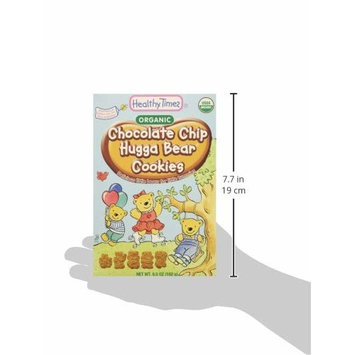 Healthy Times Organic Hugga Bear Cookies for Kids, Chocolate Chip | For Toddlers, 12 Months and Older | 6.5 Oz. Box, 1 Count [Chocolate Chip]