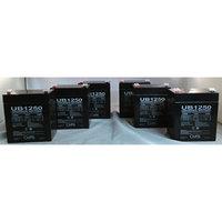 Universal Power Group D5741 / UB1250 F1 Terminal .187 SLA Battery - 6 Pack