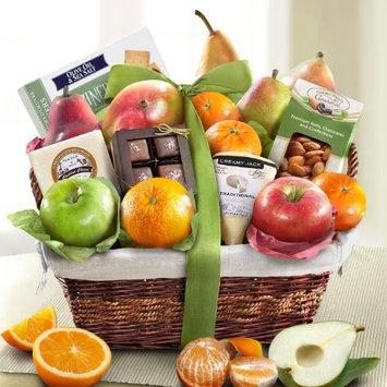 Sympathy Deluxe Gourmet Fruit Basket Gift [Sympathy]