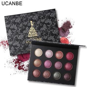 RNTOP 10 Colors Shimmer Eyeshadow Eye Shadow Palette Makeup Cosmetic Set