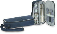 Ddi Picnic Coffee Set For Two - Navy (Pack Of 10)