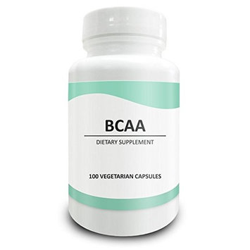 Pure Science BCAA 1000MG - Builds and Maintains Muscle - 100 Vegetarian Capsules