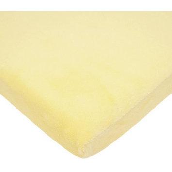 Tl Care Inc TL Care Heavenly Soft Chenille Bassinet Sheet, Maize