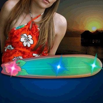 Blinkee Long Board Surfboard Lapel Pin Flashing Body Light Lapel Pins