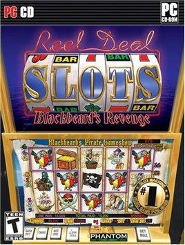 Phantom EFX Reel Deal Slots Blackbeard's Revenge
