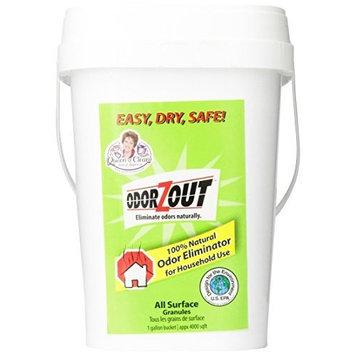 ODORZOUT All Purpose Odor Removal Granules, 1 gallon bucket