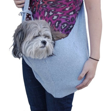 Anima Gray Sling Bag For Puppy Dog - One Size