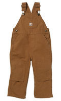 Carhartt Kids Little Boys Washed Duck Bib Overall