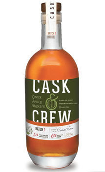 Cask & Crew Whiskey Ginger Spice American Whiskey