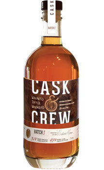 Cask & Crew Whiskey Walnut Toffee American Whiskey
