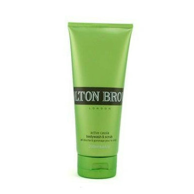 Molton Brown Active Cassia Body Wash & Scrub, 200ml