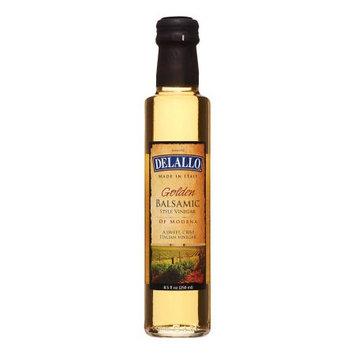 Delallo Golden Balsamic Style Vinegar 8.5 Ounce (Pack Of 6)