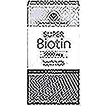 Vitamin World Super Biotin 5000 mcg Supports Healthy Hair, Skin & Nails B Vitamins 60 softgels