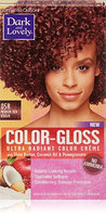 Dark and Lovely Color-Gloss Ultra Radiant Color Creme, Medium Red Brown 1.0 ea(pack of 3)
