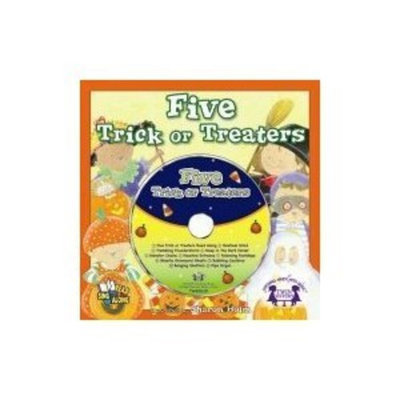 Halloween Five Trick-or-Treaters book with Party CD