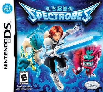 Spectrobes Nintendo DS game BUENA VISTA