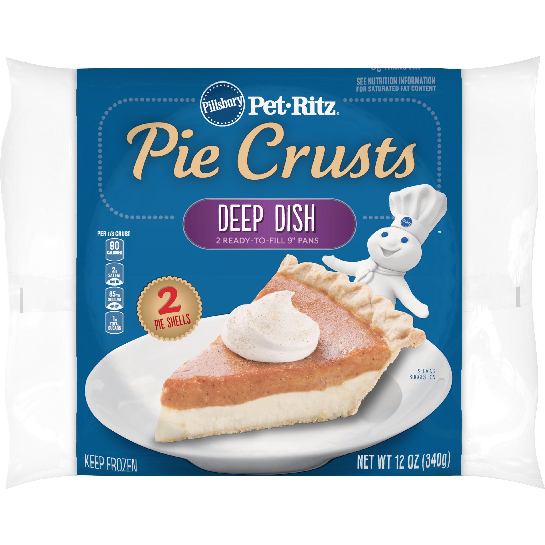 Pillsbury Pet-Ritz Deep Dish Pie Crusts 2 Ct, 12 oz
