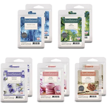 Rimports Usa Llc Better Homes and Gardens ScentSationals Day Dreams Wax Cubes Assortment, 10-Pack
