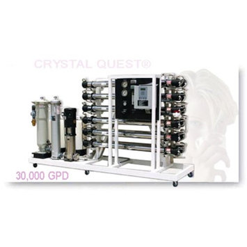 Crystal Quest CQE-CO-02034 Commercial Reverse Osmosis 30,000 GPD Water Filter System