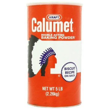 Calumet Baking Powder - 1 Can - 5lbs