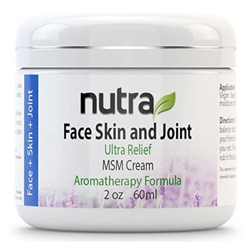 Face, Skin & Joint Ultra Relief Cream Nutra Research Intl 2 oz (60 ml) Jar