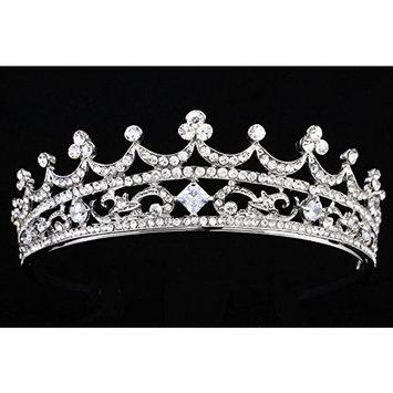 Bridal Pageant Rhinestone Crystal Wedding Prom Princess Tiara Crown T853