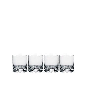Erik Double Old Fashioned Glasses, Set of 4