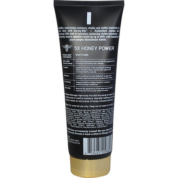HoneyLab 5-in-1 Dry Skin Lotion. Intense moisture lotion for dry skin, sun damaged skin, bumps, and stretch marks. 8oz tube.