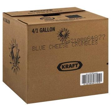 Kraft Crumble Blue Cheese Dressing, 1 Gallon - 4 per case.