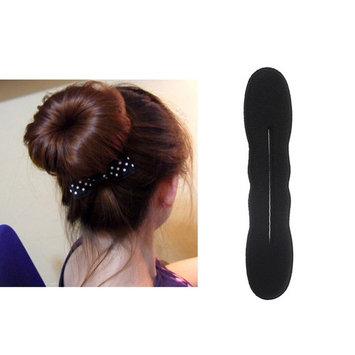 Sexy Sparkles 1 Sponge Bun Updo Curlers Rollers Hair Styler (23cmx4.5cm)
