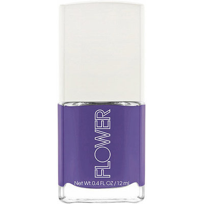 FLOWER Beauty Nail'd It Nail Lacquer, Pansy Schmansy, 0.4 fl oz